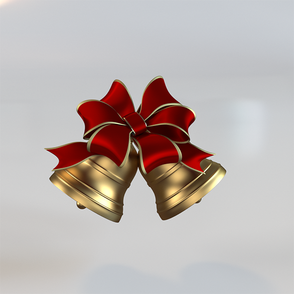 3DOcean Christmas bells 9511453