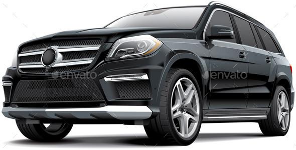 GraphicRiver Suv Vehicle 9511576