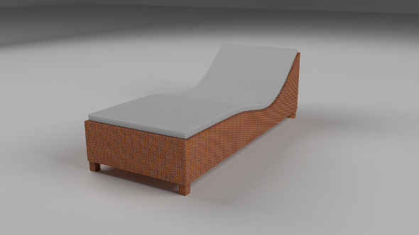 3DOcean Wicker Lounge 9511919