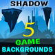 Shadow Game Backgrounds - GraphicRiver Item for Sale