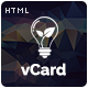 Lantern -  Responsive vCard Template
