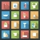 Bathroom Icons - GraphicRiver Item for Sale
