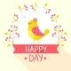 Bird Wreath - GraphicRiver Item for Sale