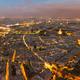 Nightfall in Paris, Ile-de-France, France - PhotoDune Item for Sale