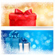 Christmas Backgrounds and Banners Bundle - GraphicRiver Item for Sale