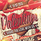 Retro Shabby Chic Valentines Day Flyer - GraphicRiver Item for Sale