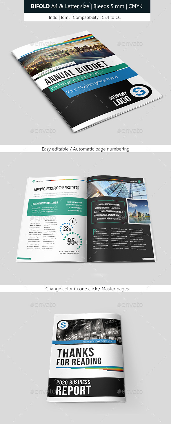 GraphicRiver Business Brochure Template Design 9513373