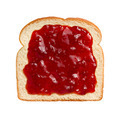 Strawberry Preserves on Bread - PhotoDune Item for Sale