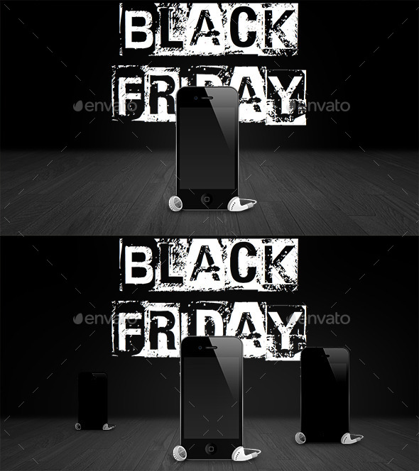 HD Black Friday Stage Backgrounds