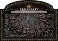 Breakfast on Blackboard - PhotoDune Item for Sale