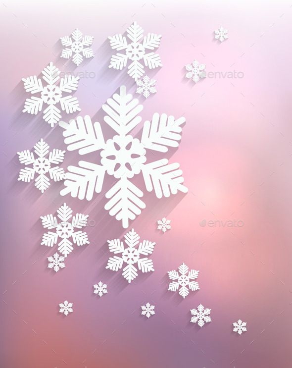 GraphicRiver Christmas Snowflake 9514382