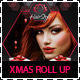 Hair Salon Christmas Promotions Roll Up Banners - GraphicRiver Item for Sale