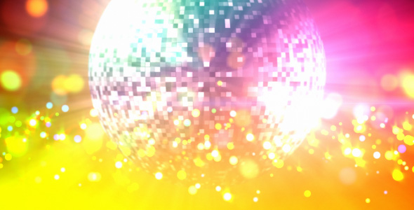 [VideoHive 121518] Disco ball loop | Motion Graphics