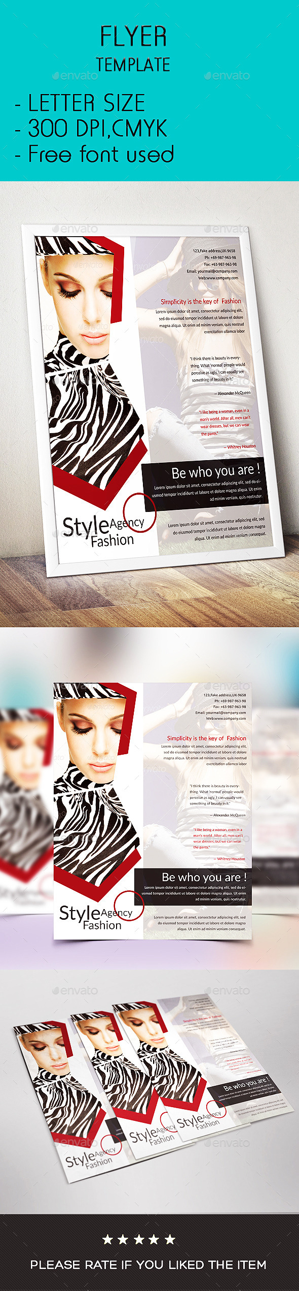 GraphicRiver Fashion Agency Flyer 9515020