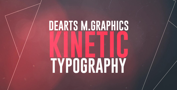 Kinetic Typo (Titles)