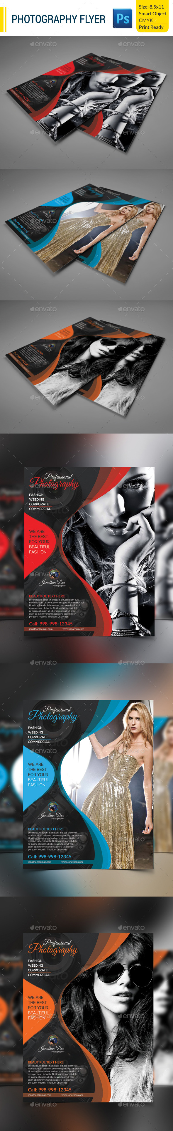 GraphicRiver Photography Flyer 9431670