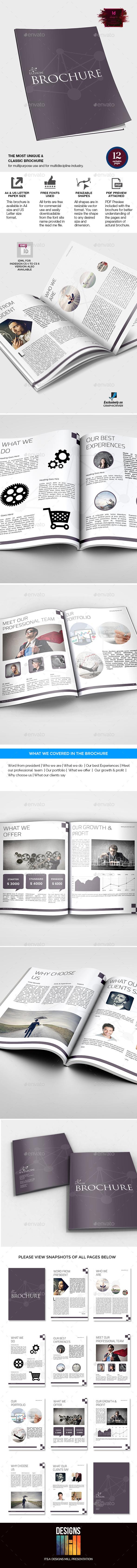 GraphicRiver Elision Multipurpose Brochure 9515119