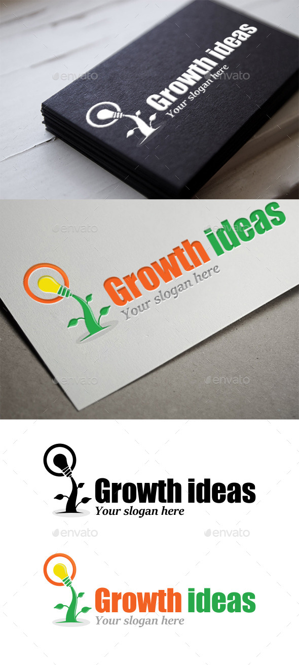 GraphicRiver Growth ideas 9515177