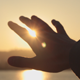 Hand And Sun - VideoHive Item for Sale
