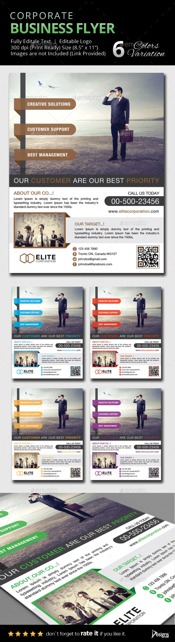 GraphicRiver Flyer Multipurpose Business Flyer 15 9515241