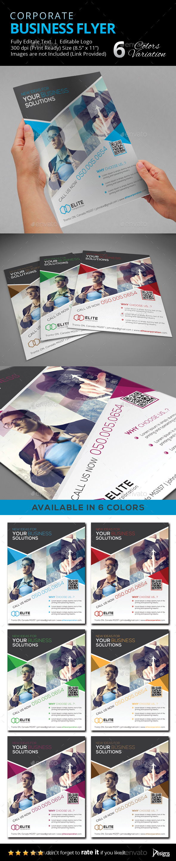 GraphicRiver Flyer Multipurpose Business Flyer 16 9515291