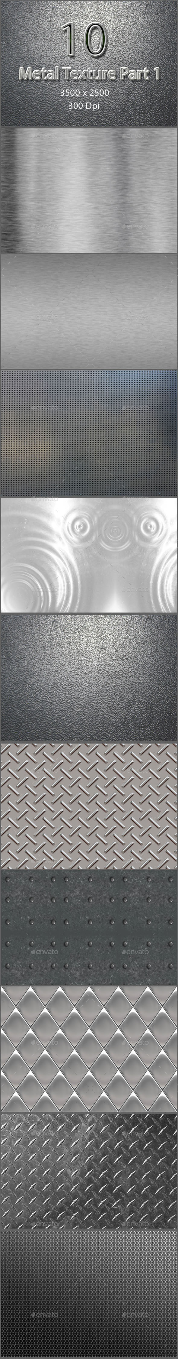 GraphicRiver 10 Metal Texture Part 1 9515535