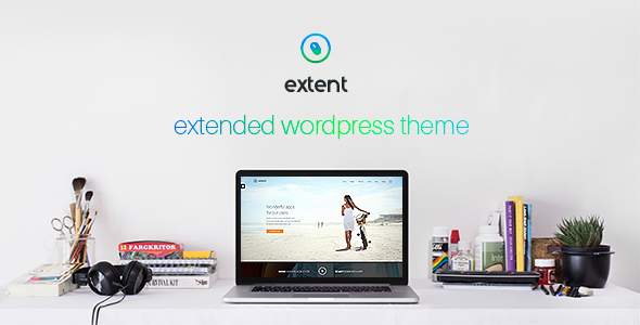 ThemeForest Extent another WordPress theme 8508000