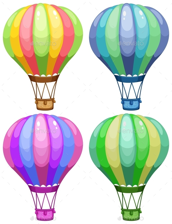 GraphicRiver Balloons 9515619