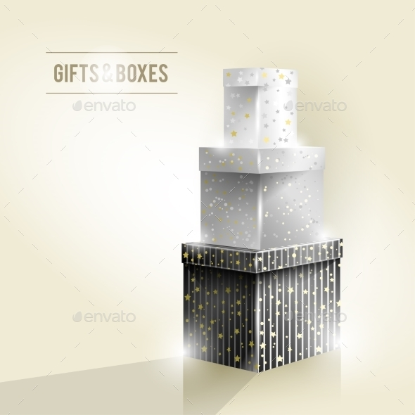 GraphicRiver Gifts and Boxes 9515731