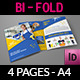 Cleaning Services Company Bi-Fold Brochure - GraphicRiver Item for Sale