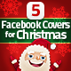 5 Facebook Covers for Christmas - GraphicRiver Item for Sale