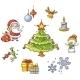Cartoon Christmas Set - GraphicRiver Item for Sale