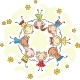 Kids in a Circle - GraphicRiver Item for Sale
