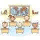 Kids in the Classroom - GraphicRiver Item for Sale
