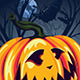 Halloween Pumpkin in the Forest - GraphicRiver Item for Sale