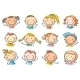 Kids Faces - GraphicRiver Item for Sale