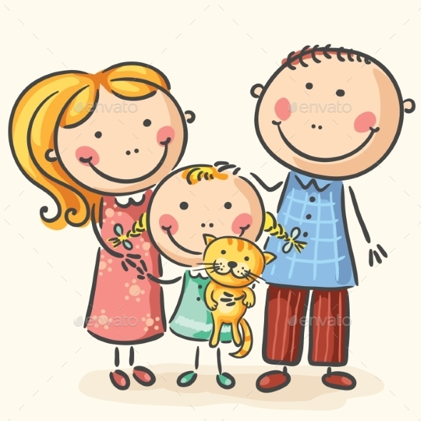 GraphicRiver Family 9516616