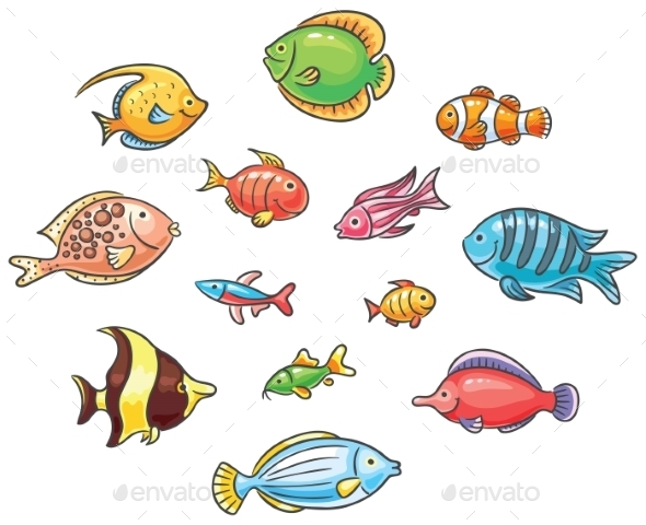 GraphicRiver Tropical Fishes 9516655
