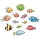 Tropical Fishes - GraphicRiver Item for Sale