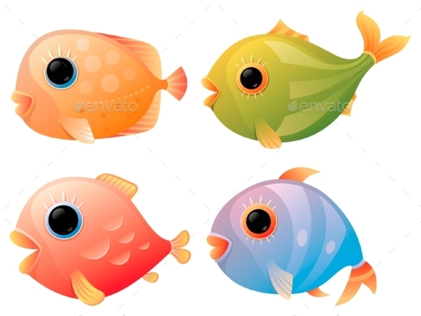 GraphicRiver Tropical Fish 9516660