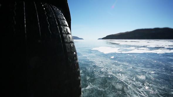 Drive the Car Across the Frozen Lake Baikal 13