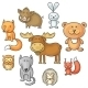 Forest Animals - GraphicRiver Item for Sale