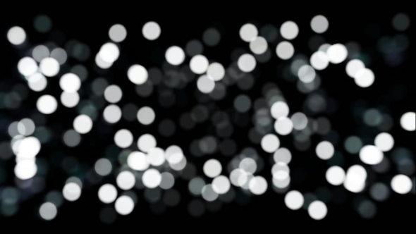 Black And White Bokeh Lights By Sumit By Sumitkawate
