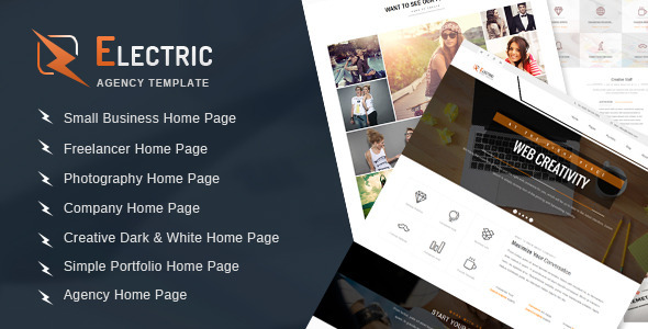 ThemeForest Electric Multipurpose HTML Site Template 9517155