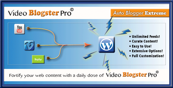 CodeCanyon Video Blogster Pro 9497256