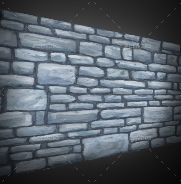 Stone Wall Texture 01 - 3DOcean Item for Sale