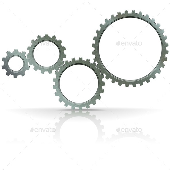 GraphicRiver Vector Gears 9517299