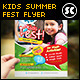 Kids Summer Fest Flyer - GraphicRiver Item for Sale