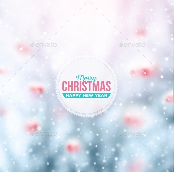 GraphicRiver Christmas Background 9517500