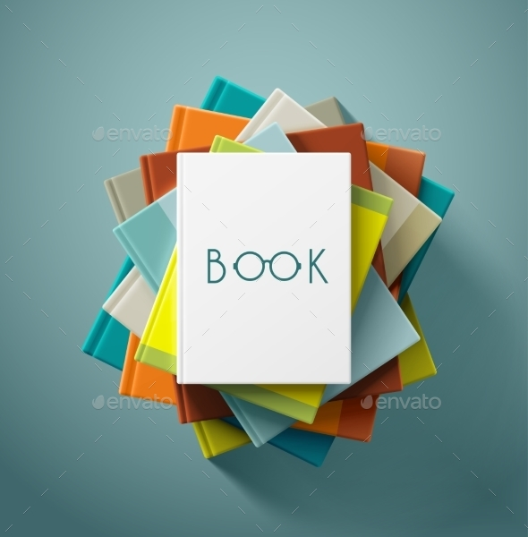 GraphicRiver Stack of Books 9517507